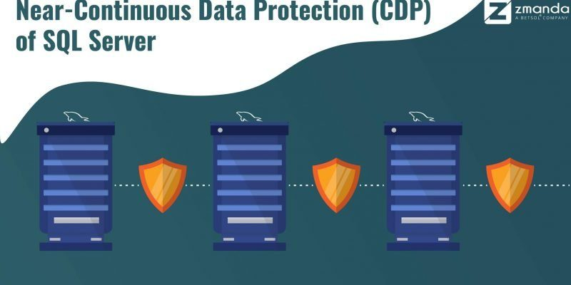 Near continous data protection of SQL server